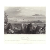 Dublin Bay from Kingstown Quarries Giclee Print by William Henry Bartlett