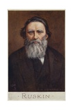 John Ruskin (1819-1900), English Writer, Art Critic, Artist and Social Thinker Giclee Print by Cecil Watson Quinnell