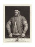 Portrait of Sir Thomas Gresham Giclee Print by Anthonis Mor