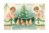 American Christmas Card Giclee Print