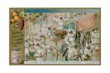 The Procession of Pulcinella Giclee Print