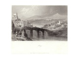 Bray in County Wicklow Giclee Print by William Henry Bartlett