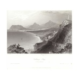 Killiney Bay in County Wicklow Giclee Print by William Henry Bartlett