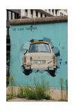 Strecht of the Berlin Wall in Potsdamer Square. Berlin. Germany Giclee Print