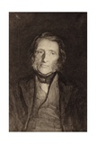 John Ruskin (1819-1900), English Writer, Art Critic, Artist and Social Thinker Giclée-Druck von Sir Hubert von Herkomer