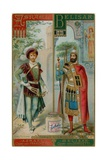 Asrael and Belisar Giclee Print