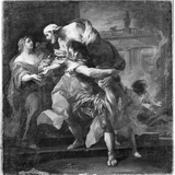 Aeneas Carrying Anchises, 1729 Photographic Print by Carle van Loo