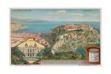 Monaco and Monte Carlo Giclee Print