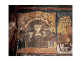 Byzantine Art. Turkey. Church of St. John. Fresco Depicting the Last Supper. Gulsehir Giclee Print