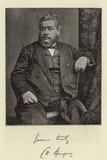 Rev C H Spurgeon Photographic Print