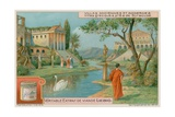 An Ancient Greek Villa Near to Syracuse Giclee Print