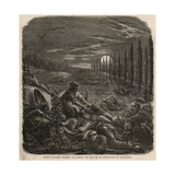 Human Vultures Stripping and Robbing the Dead on the Battlefield of Gravelotte Giclee Print