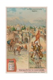 The City of Kandahar and a Mullah Preaching War Giclee Print