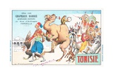 Tunisia, Chapeaux Barrie Postcard Giclee Print