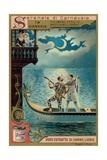 In a Gondola Giclee Print