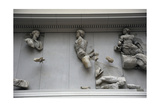 Pergamon Altar. Theia, Giant Fallen and Selene Giclee Print