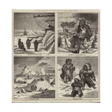 Illustrations of the Life of the Eskimaux Giclee Print