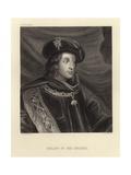 Philip IV of Spain Giclée-Druck von Diego Rodriguez de Silva y Velazquez
