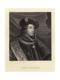 Philip IV of Spain Giclee Print by Diego Rodriguez de Silva y Velazquez