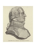 Portrait of Adam Smith Giclee Print