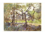 Farmyard, Gloucester Giclee Print by Paul Cornoyer