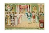 Verdi's La Traviata Giclee Print