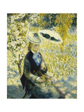 The Umbrella; L'Ombrelle, 1878 Giclee Print by Pierre-Auguste Renoir