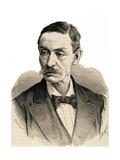 Antonio Aguilar Marocho. Engraving Giclee Print by Arturo Carretero y Sánchez