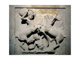 Phoenician. Lycian Sarcophagus. 5th BC. Batlle of Centaurs and Lapiths. Royal Necropolis of… Giclee Print