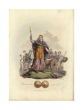 Boadicea, Queen of the Iceni Giclee Print