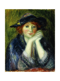 Portrait Study of an Artist's Model Giclee Print by William James Glackens
