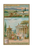 Triangular Forum of Pompeii Giclee Print