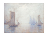 Blue Sails Giclee Print by Lowell Birge Harrison