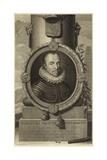 Portrait of William I, Prince of Orange Giclee Print by Pieter van der Werff