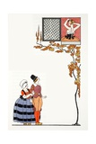 Admiration from Afar Giclee Print by Georges Barbier