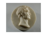 Medallion Portrait of Benjamin Gott, 1835 Giclee Print by Joseph Gott