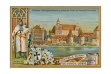 Marienburg (Malbork Castle) in Poland Giclee Print