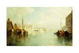 The Grand Canal, 1887 Giclee Print by Thomas Moran