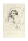 Portrait of Henri Heine Giclee Print by Charles Gleyre
