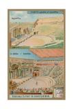 The Theatre in Pompeii Giclee Print