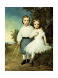 Alice and Andrew Mccormick, C.1864 Giclee Print by Thomas Buchanan Read