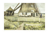 The Mill; Le Moulin, 1881 Giclee Print by Vincent van Gogh
