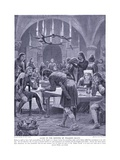 Scene on the Morning of the Death of William I, 1920's Giclee Print by Richard Caton II Woodville