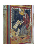 St. Gregory the Great, with Job at His Feet, St. Gregory's Chapel, C.1224 Giclee Print