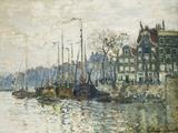 Amsterdam, 1874 Impressão giclée por Claude Monet