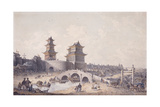 Pringze Men, the Western Gate of Peking Giclee Print by William Alexander