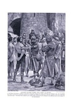 Stephen's Soldiers Rubbed with Honey at Devizes, 1920's Giclee Print by Richard Caton Woodville II