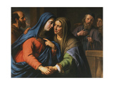 The Visitation, C.1643 Giclee Print by Philippe De Champaigne