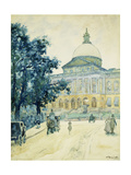 The Bullfinch State House, Boston, 1898 Giclee Print by James Kinsella