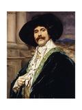 A Gentleman of Louis Xviii; Un Gentilhomme De Louis Xviii Giclee Print by Ferdinand Roybet